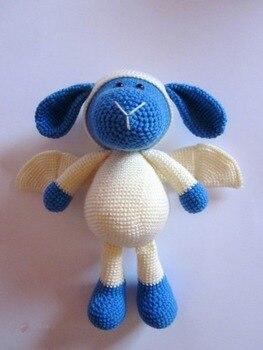 crochet armigurumi  rattle toy sheep devis  model number  8129