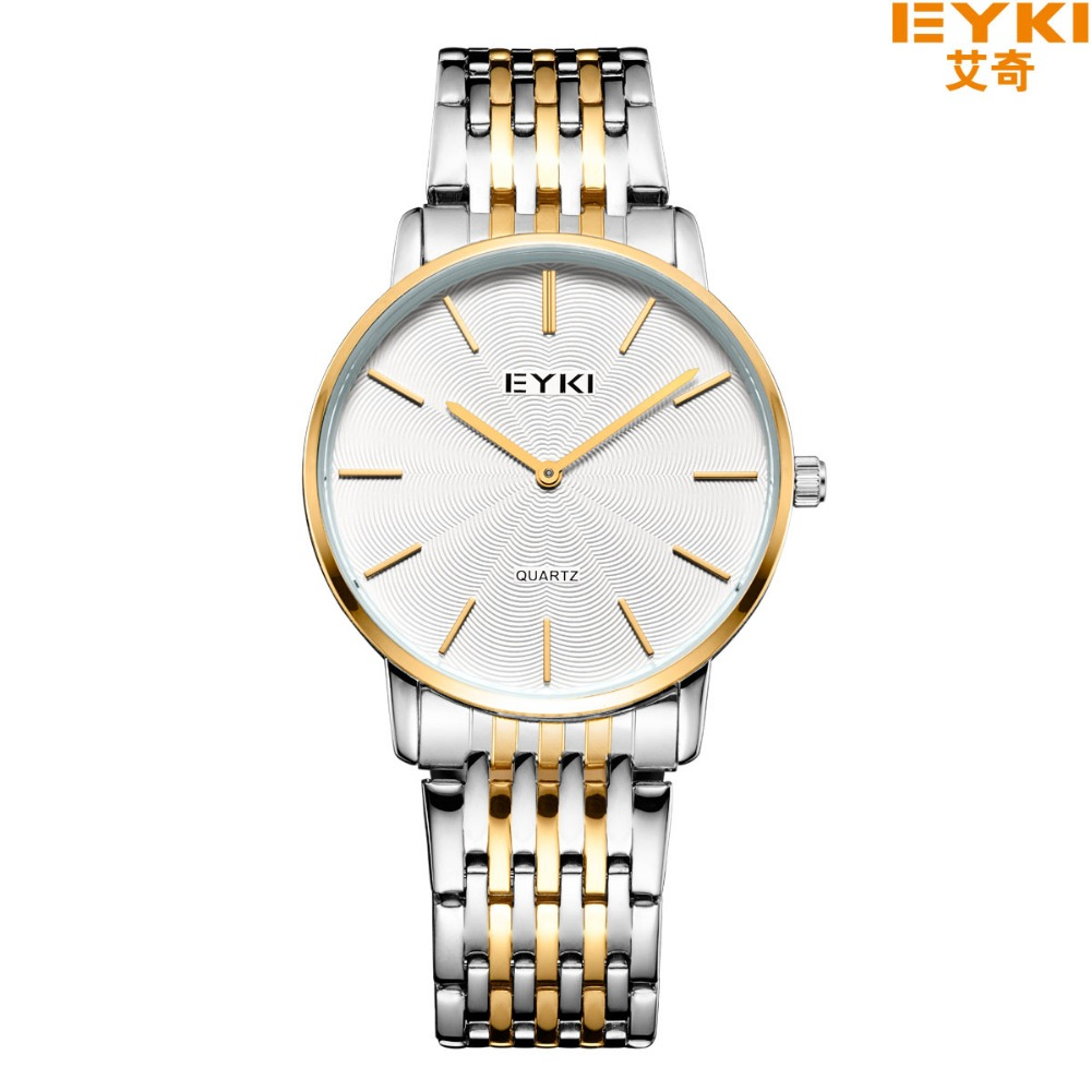 EYKI Top Brand Men Watches Casual Quartz Wrist watches Business Stainless Steel Wristwatch For Men and Women .Male Reloj clock adjustable wrist and forearm splint external fixed support wrist brace fixing orthosisfit for men and women