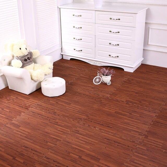 Online Shop Wood Grain Mats Pe Foam Mats Home Flooring Tiles Wood