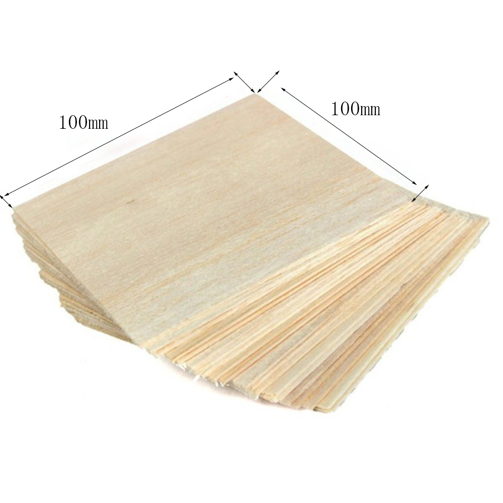 AAA+ Balsa Wood Sheet ply 20 Sheets 100x100x1mm Model Balsa Wood For Military Hobby Models Smooth DIY aaa balsa wood sheet ply 1000mmx100mmx6mm 10 pcs lot super quality for airplane boat diy free shipping