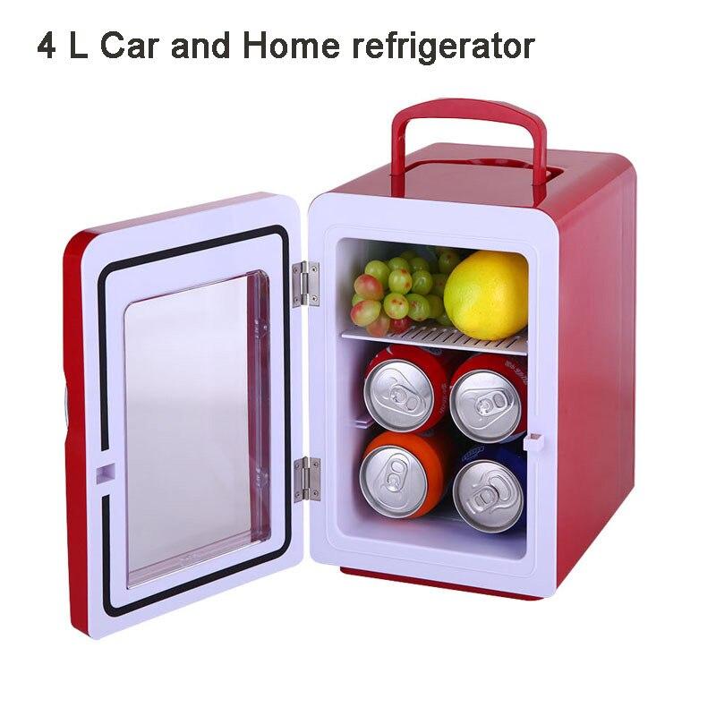 4L Intelligent compact refrigerator cold and hot dual-purpose mini refrigerator car home refrigerator