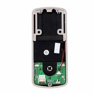 Image 5 - Ofis akıllı Bluetooth dokunmatik sineklikli kapı kilidi dijital şifre tuş takımı kapı kilidi akıllı telefon uygulaması ile otel daire için F1401A
