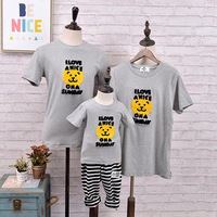 Family Look Clothing New Spring Summer Activities Tailored Short Sleeved Matching Mother Daughter Pajamas Son Outfits