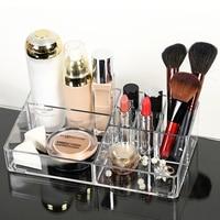 Sample Storage Box Cosmetics Makeup Vanity Desktop Transparent Storage Box Free Shipping