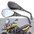 Motorcycle ABS Shell Left and Right Rear View Mirror For Yamaha Harley Honda Suzuki Kawasaki BMW KTM ATV Dirt bike 8mm thread