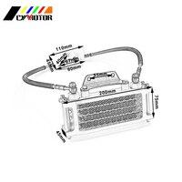 Oil Prevent Overheating Cooling Cooler Radiator For Loncin Zongshen Lifan Shineray Yinxiang 50 70 90 110CC Horizontal Engines