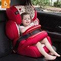 Asiento de Coche de bebé Convertible Ajustable Aprovechada Booster Isofix Fijo Para 9 M-12Y Niños assento de carro M4
