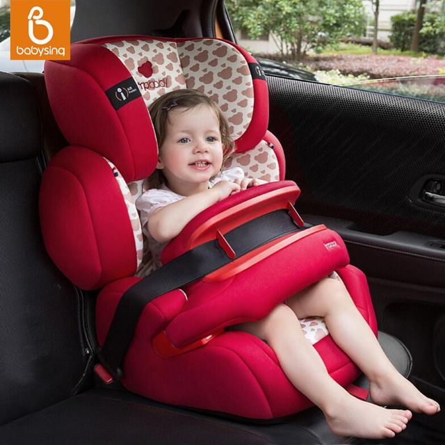 5846bab66 Baby Convertible Car Seat Adjustable Harnessed Booster Isofix Fixed For 9M  - 12Y Kids assento de