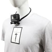 Neck Hold Mount Lanyard Strap for GoPro 7 6 5 4 3+ 3 2 1 Xiaomi yi 4K SJCAM sj4000 EKEN H9/r Action sports Camera Accessories цена и фото