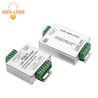 DC12 24V 24A Led RGBW Strip Amplifier 6A X 4 Channel Output Led RGBW Strip Power