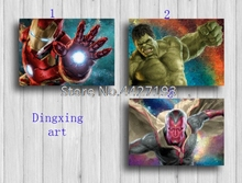 DIY Diamond Embroidery Super heros Full Mosaic Crafts 5D Painting Cross Stitch Home Decor