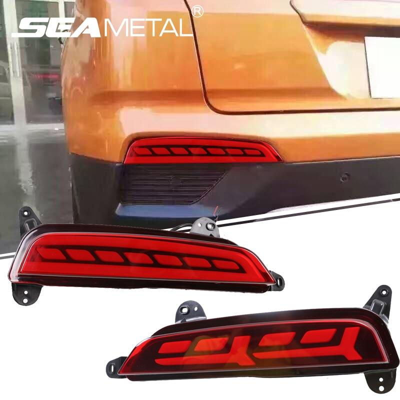 For Hyundai Creta ix25 2014 2015 2016 2017 Car Rear Bumper Light Multifunction Brake Lights LED Rear Fog Lamp Turn Signal Light hyundai creta с 2016 года автоматическая и механическая коробки передач