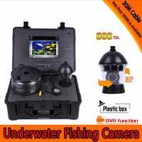 360 stopni panoramowanie podwodny aparat wędkarski zestaw z 30 metrów głębokości i 7 Cal Monitor LCD z mikro-DVR i twardych tworzyw sztucznych przypadku