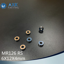 MR126RS Bearing 10PCS 6x12x4 mm ABEC-3 Hobby Electric RC Car Truck MR126 RS 2RS Ball Bearings MR126-2RS Orange/blue Sealed 5316 2rs bearing 80 x 170 x 68 3 mm 1 pc axial double row angular contact 5316rs 3316 2rs 3056316 ball bearings