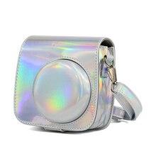 Pour Fuji Fujifilm Instax Mini 9 Mini 8 8 + étui de protection pour sac photo instantané accessoire de photographie laser Aurora