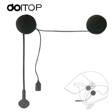 DOITOP MH02 Wireless Bluetooth Headset Motorcycle Helmet Earphone Speaker Handsfree Music Headphone For MP3 MP4 Smartphone