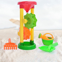 4pcs Lot Hourglass Toys Car Sand Playing Tools Learning Educationa Summer Swimming Pool Tool Water Toys