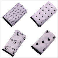 Brand Baby Blanket Ball Wrapping Muslin Cotton Gauze Scarf Double Cotton Towel Baby Bath Towel Baby