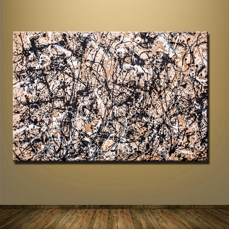 online buy wholesale jackson pollock canvas from china jackson pollock canvas wholesalers. Black Bedroom Furniture Sets. Home Design Ideas