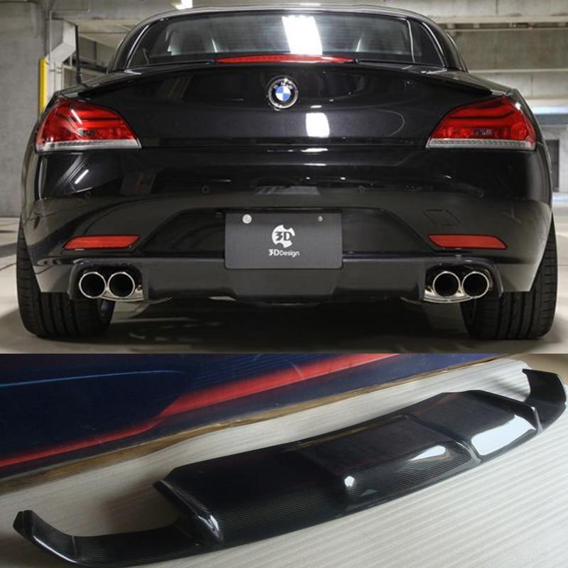 Auto Parts Coupons >> Z4 E89 3D Style Carbon Fiber Rear Body Kit Bumper Lip Diffuser for BMW E89 Z4 2009 2013 Car ...