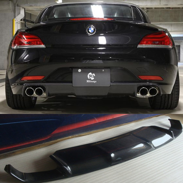 Bmw Z4 2009: Z4 E89 3D Style Carbon Fiber Rear Body Kit Bumper Lip