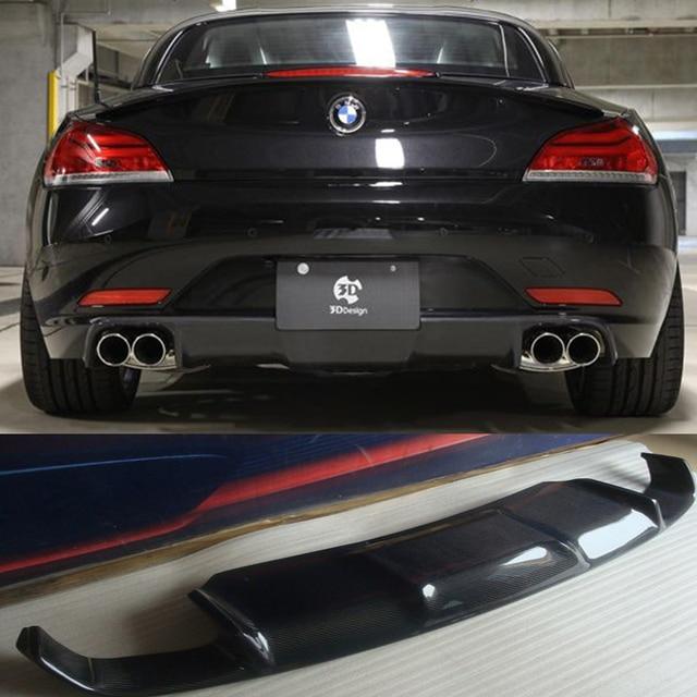 Bmw Z4 E89: Z4 E89 3D Style Carbon Fiber Rear Body Kit Bumper Lip