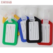 Случайный цвет горячая распродажа этикетки ремешок имя адрес ID в чемодан сумка багаж путешествия камера