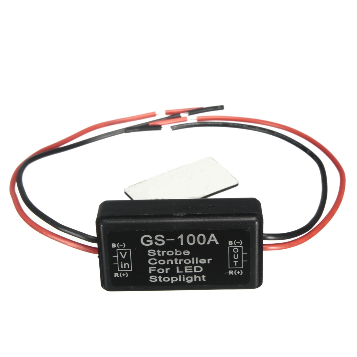 GS-100A Universal Car 12V LED Brake Stop Light Strobe Controller Flash Module