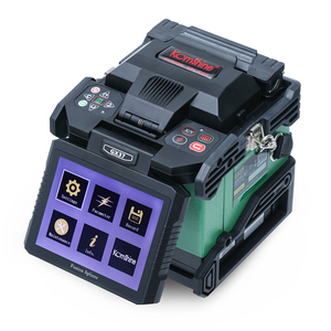 Image 1 - Komshine newest GX37 optic fiber fusion splicer  with one pair electrodes and KF 52 high precision optic fiber cleaver