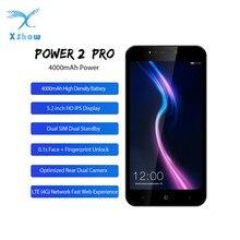 LEAGOO POWER 2 Pro смартфон с 5,5-дюймовым дисплеем, четырёхъядерным процессором MTK6739, ОЗУ 2 Гб, ПЗУ 16 Гб, 5,2 мАч, 8 Мп, Android 8,1