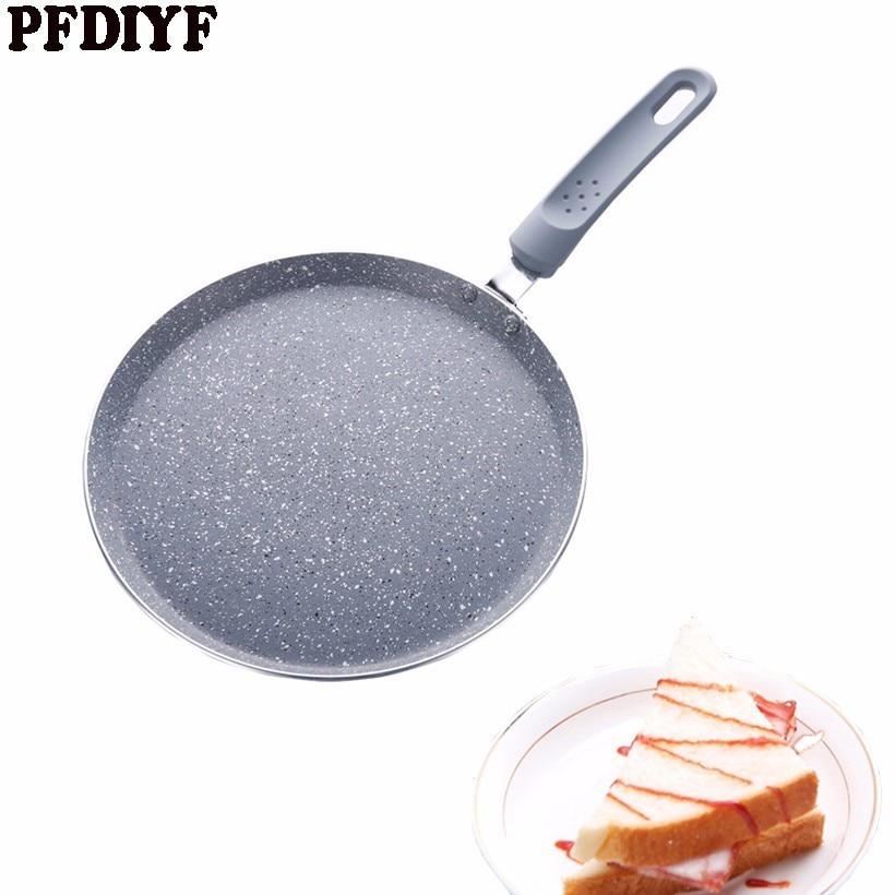 28cm Large Crepe Pan Layer cake Cake Cooking Pancake Pan Crepe Maker Flat Pan Griddle Breakfast Omelet Baking Pans