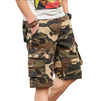 Mens Shorts Tactical Camouflage Cargo Shorts Hombre Breathable Beach Clothes Camo Shorts Pantalones Cortos Plus Size
