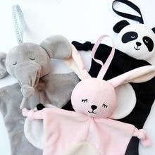 Baby Newborn soothing towel Toys Animal shape Infant Doll ki
