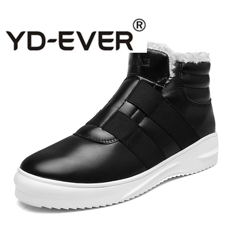 Marrom Sapatos Ao Andando Calçado Ar Livre azul Preto Dos Sapatas Os Pele Casuais Jovens Inverno Homens Para Não Azul Com Confortável Do slip marrom Quente rpHPwqr