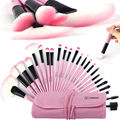 2016 Professional 24 32Pcs Makeup Brush Brushes Set Kit Tools Pinceis Cosmetic Eyeliner Lip Powder Soft With Bag Gift Wholesale