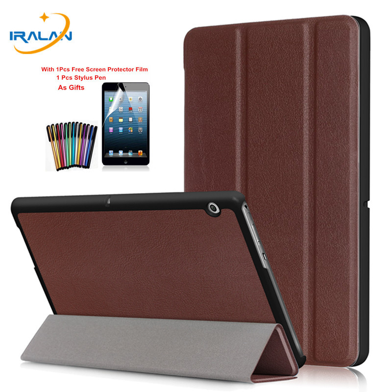 PU leather Folio Stand Smart Case For Huawei MediaPad T3 10 AGS-W09 AGS-L09 Tablet Cover For Honor Play Pad 2 9.6+Film+stylusPU leather Folio Stand Smart Case For Huawei MediaPad T3 10 AGS-W09 AGS-L09 Tablet Cover For Honor Play Pad 2 9.6+Film+stylus