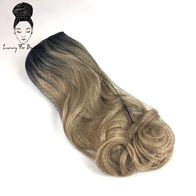 long curly ombre blonde synthetic wigs05