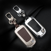 Zinc Alloy Leather Car Key Cover Case Shell Bag For MG5 MG7 MG GT GS Roewe