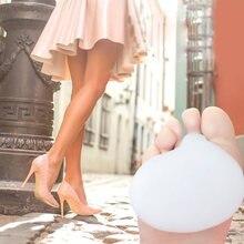 Coussinets de Gel de silice 3D pour l'avant des pieds, 1 paire, semelles intérieures pour femmes, doux, antidérapants, talons hauts, demi-Code, coussins de Massage