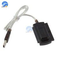 USB 2.0 para IDE SATA Cabo Adaptador Conversor para 2.5 3.5 Disco Rígido HDD Cabo Conversor Conector