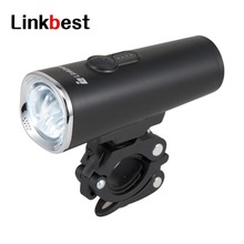 ФОТО linkbest super bright 600 lumen usb rechargeable led bike light  safety -ipx5 waterproof- near range beam fits all bikes
