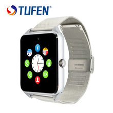 Bluetooth Metal Smart Watch GT08 Android Waterproof SmartWatch Phone SIM Card Camera MP3 Fitness smart watches batter than DZ09