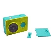 Capa bateria traseira porta capa com porta usb capa para xiaomi yi câmera de ação esportiva