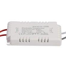 105 Вт электронный трансформатор с регулируемой яркостью 220 V-12 V светодиодный светильник лампа драйвер Питание Volatage конвертер