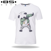 ESUIPIN White Color 3d T Shirt Men Summer Style Funny Cartoon Printed T Shirt Short Sleeve