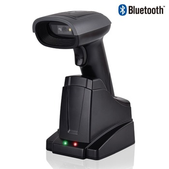Wireless  Bluetooth Barcode Scanner reader 2D QR Bar code Reader Automatic Bar Code Scanner with Automatic Scanning Android iOS