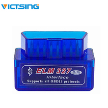 цены на VicTsing Car Diagnostic Scanner ELM327 Bluetooth V2.1 OBD2 Mini Elm 327 OBDII Auto Car Diagnostic Scanner Universal Tools  в интернет-магазинах