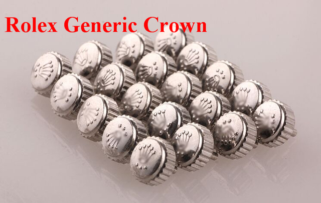 Free Shipping 1pc Generic Rlx Gold and Silver Crown in Large Tube Size from 5.3m