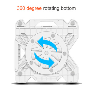 Image 3 - 360 Rotating Laptop Stand Foldable Notebook Stand For Macbook Lenovo Laptop Holder Computer Cooling Bracket With Phone Holder