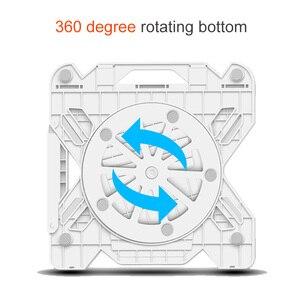 Image 3 - 360 회전 노트북 스탠드 접이식 노트북 스탠드 맥북 레노버 노트북 홀더 컴퓨터 냉각 브래킷 전화 홀더